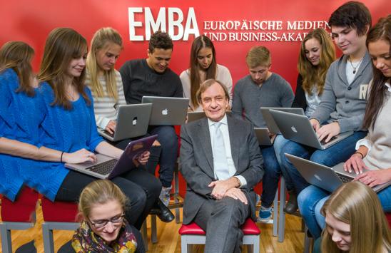 Lesen Sie die Erfolgsgeschichte der Europäische Medien- und Business Akademie