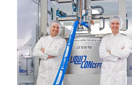 Lesen Sie die Erfolgsgeschichte der Liquid CONcept GmbH & Co. KG